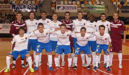 Umacon Zaragoza juega contra el Caja Segovia en los play of