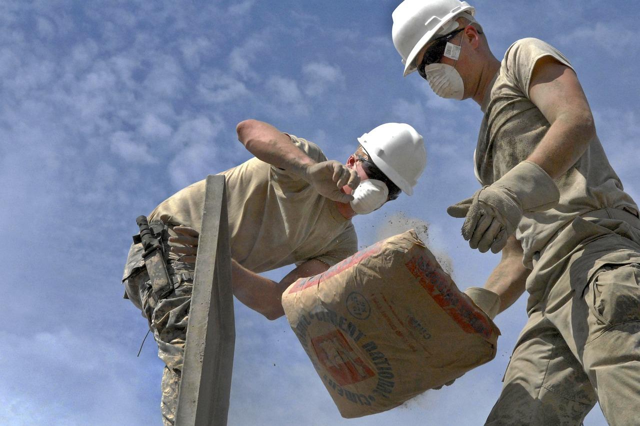Construcción con cemento Portland