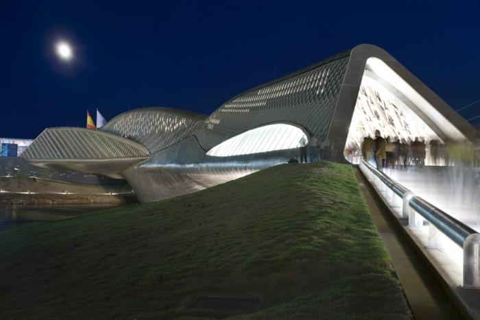 Pabell n puente de zaragoza arquitectura y dise o - Arquitectura en zaragoza ...