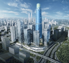 Torre Exchange 106 de Kuala Lumpur (Malasia)
