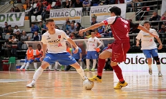 Maana comienzan los plays off enfrentando al Umacon Zaragoza frente al Caja Segovia