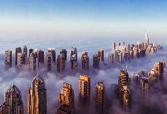 Rascacielos en las nubes - Dubai