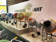 Exposición Concrete MixArt en Smopyc 2017