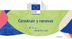 Portada Pacto Verde Europeo para la Construcción