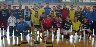 Umacon Zaragoza gana la Copa de Aragon en fútbol sala