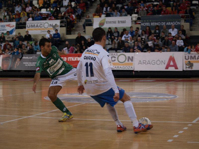 Umacon Zaragoza 5-3 Triman Navarra