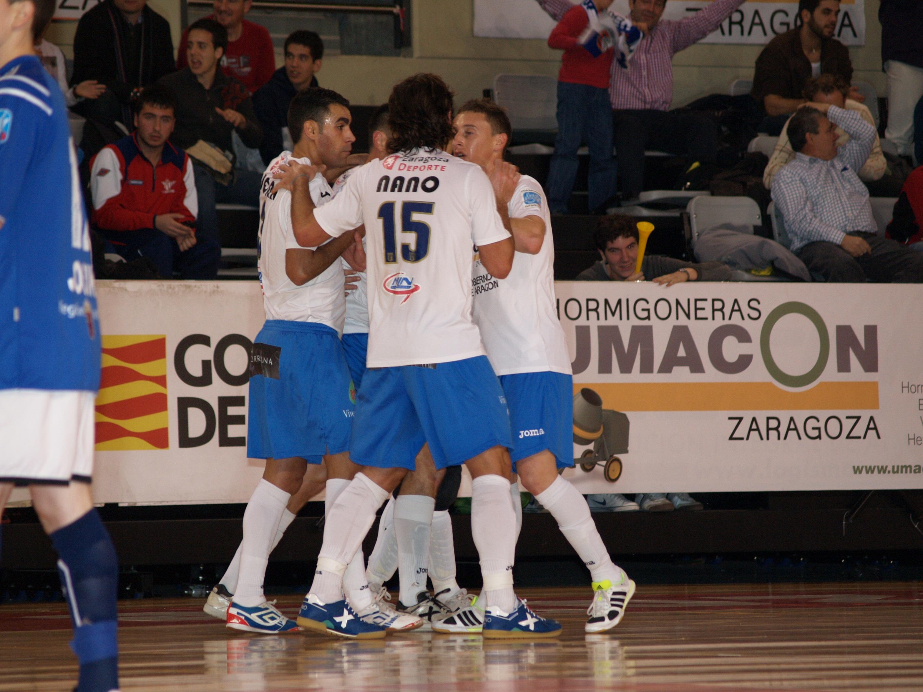 Hormigoneras Umacon Zaragoza 8-4 Reale Cartagena