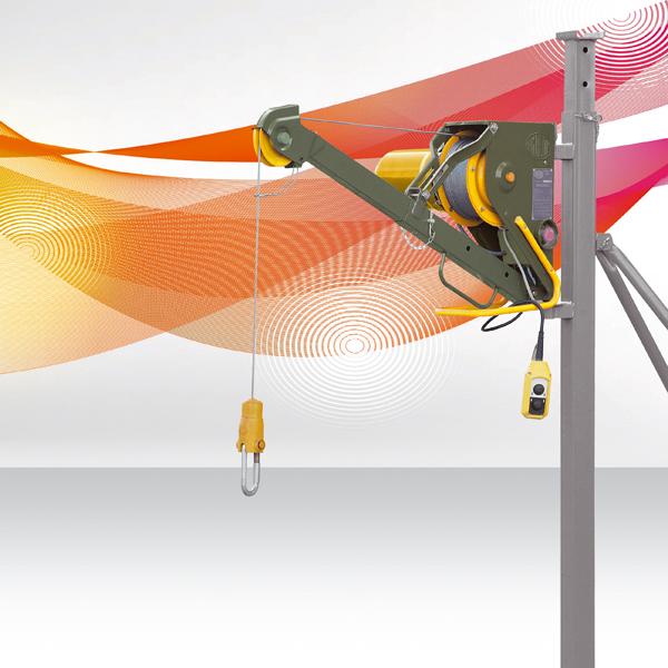Elevadores eléctricos con cable para obras de construcción