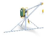 Elevador eléctrico para construcción modelo pU 500 K fabricado por Umacon