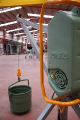 Elevador de Umacon utilizado para obras de construcción