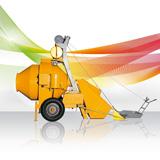 Hormigonera UTI-450 D con motor DIESEL/GASÓIL fabricada por UMACON