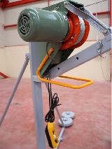 Tambor con cable del elevador eléctrico