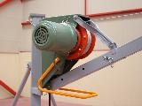 Motor eléctrico del elevador para construcción U300k